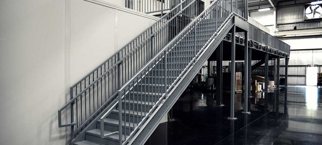 Commercial-metal-stairs-installation